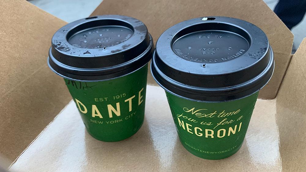 Dante cocktail negroni