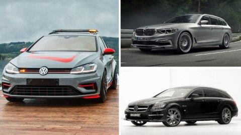 Volkswagen Golf Estate R FighteR, Alpina B5 Bi-Turbo, Brabus Mercedes-Benz E63 Wagon 850 6.0