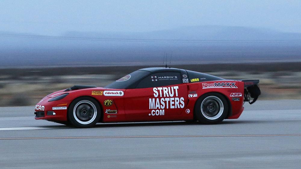 Dan Parker's Corvette
