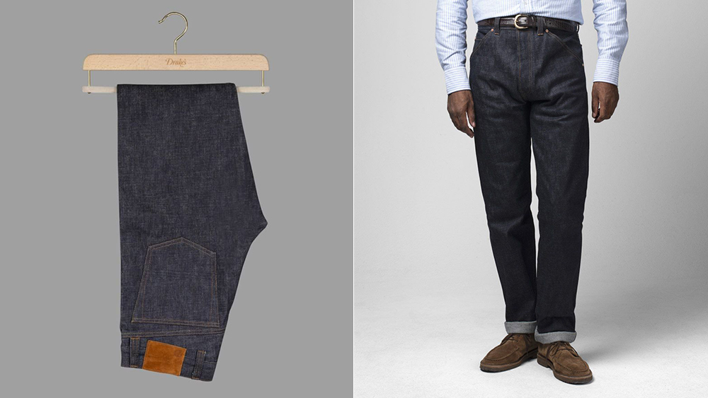 Drake's Selvedge Denim Jeans