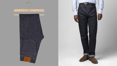 Drake's Selvedge Denim Jeans