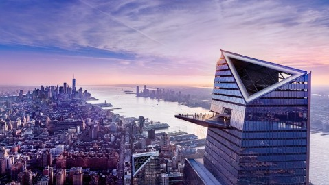 Edge observation deck Hudson Yards New York City