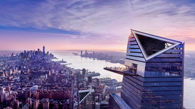 Edge observation deck Hudson Yards New York City