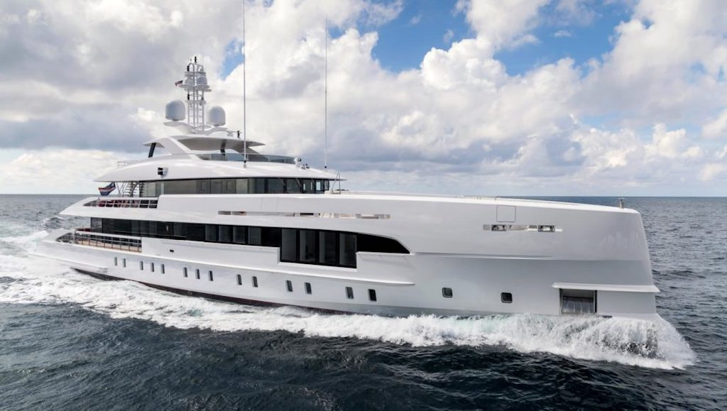 Dutch shipyard Heesen Yachts Hybrid Superyacht Project Electra fuel-efficient yacht silent yacht