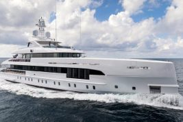 Dutch shipyard Heesen Yachts Hybrid Superyacht Project Electra fuel-efficient yacht silent yacht