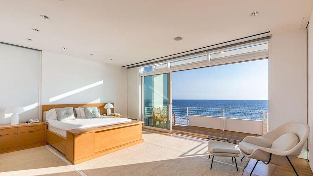 Billionaire Eli Broad's Malibu Beach House