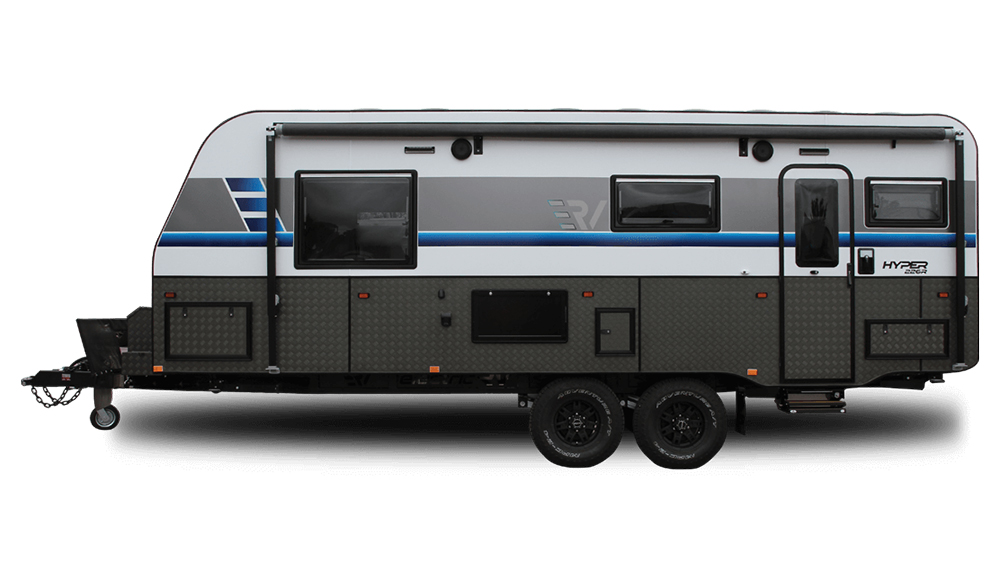 The Retreat Caravan and OzXcorp's ERV Electric Camper