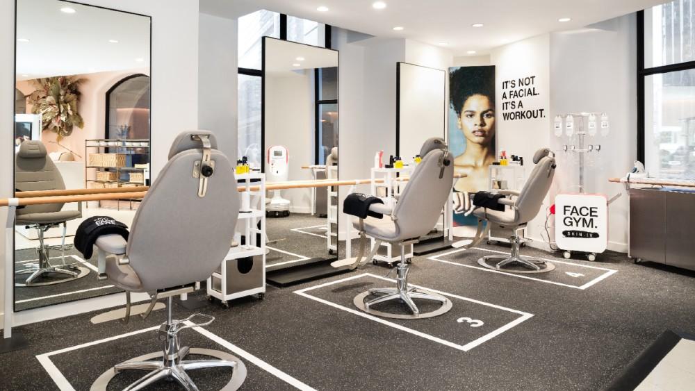 Conrad New York Midtown FaceGym skincare