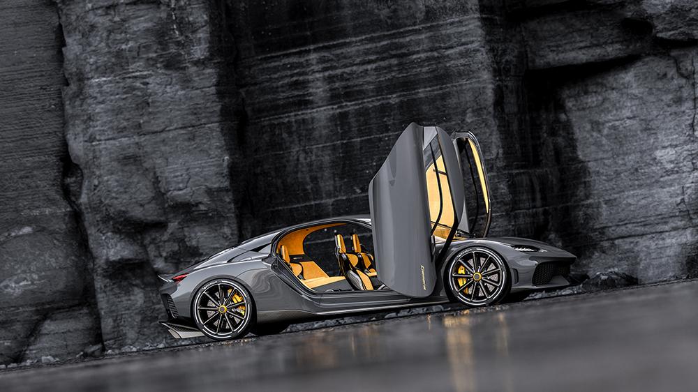 The Koenigsegg Gemera supercar