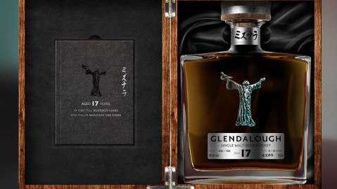Glendalough irish whiskey st. patrick's day