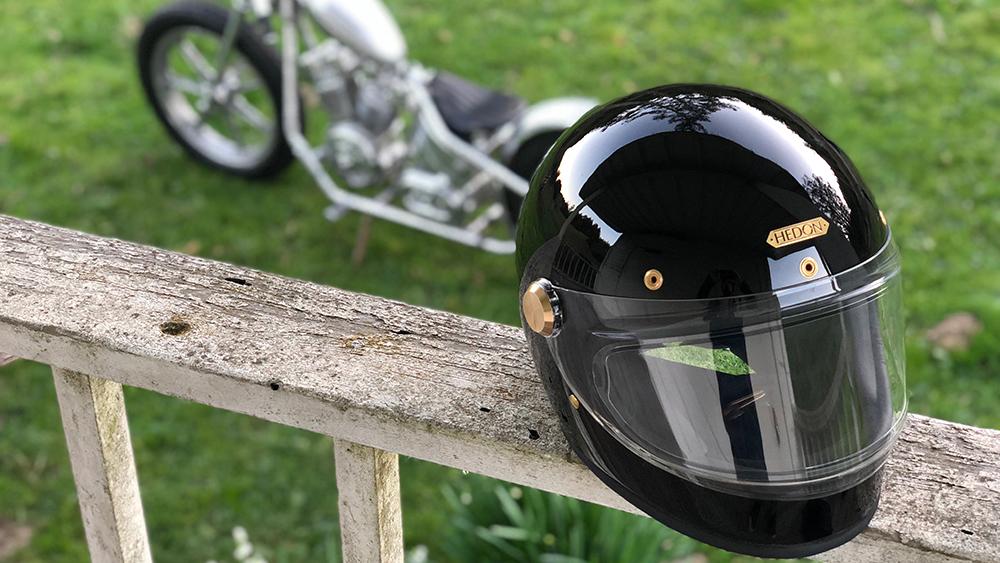 Hedon Heroine Racer Signature Black Helmet