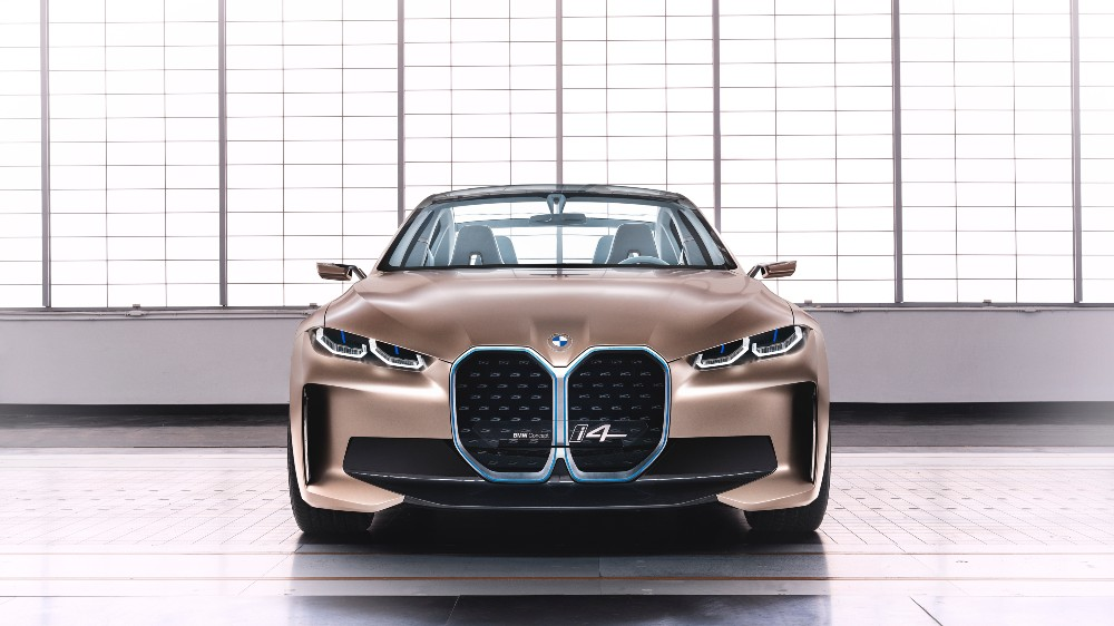 The BMW Concept i4 electric sedan