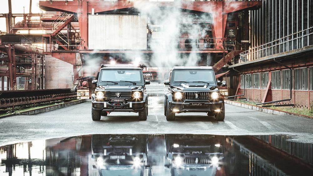 The Brabus Invicto G-Wagen