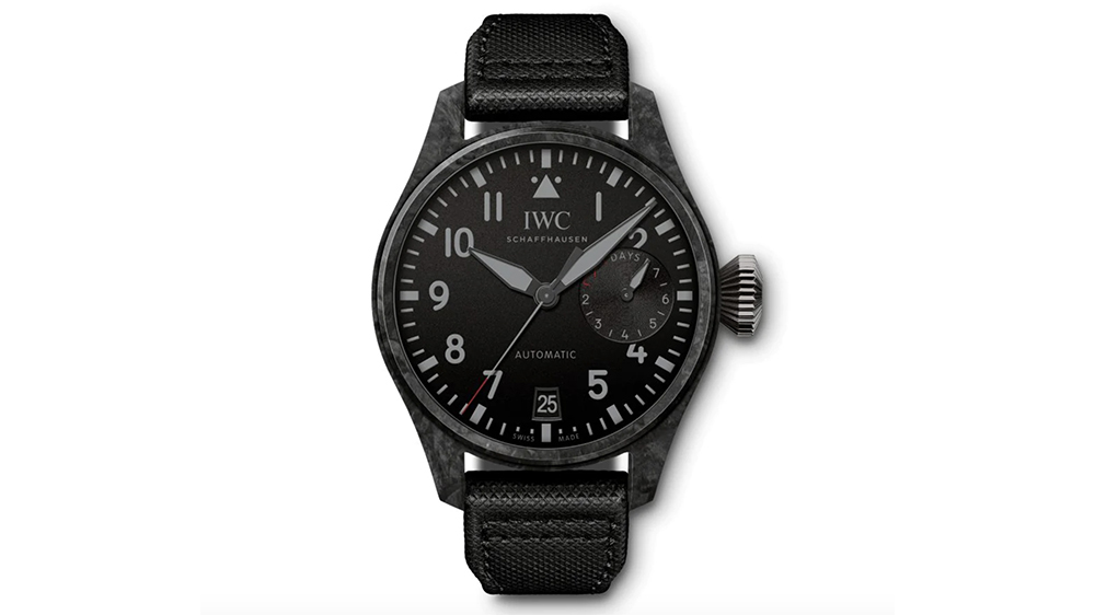 "IWC's Big Pilot's Watch ""Black Carbon"" Edition"
