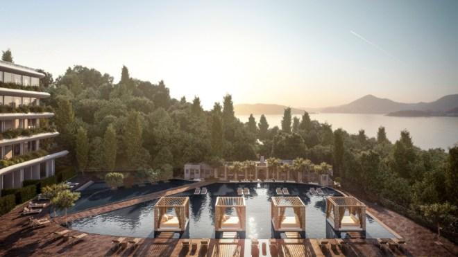 Janu Montenegro resort pool