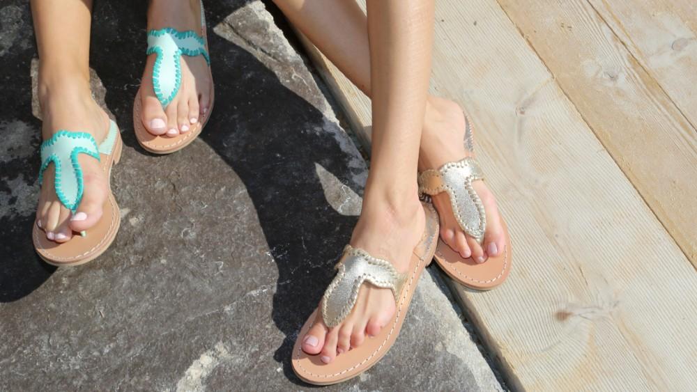 Jack Rogers sandals Capri Italy
