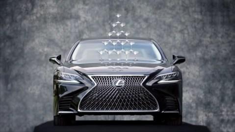 Lexus's 30th anniversary ad