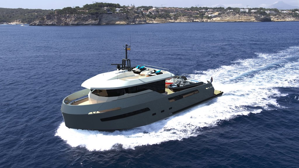 Lynx Yachts Crossover 27 explorer yacht support vessel tenders toys