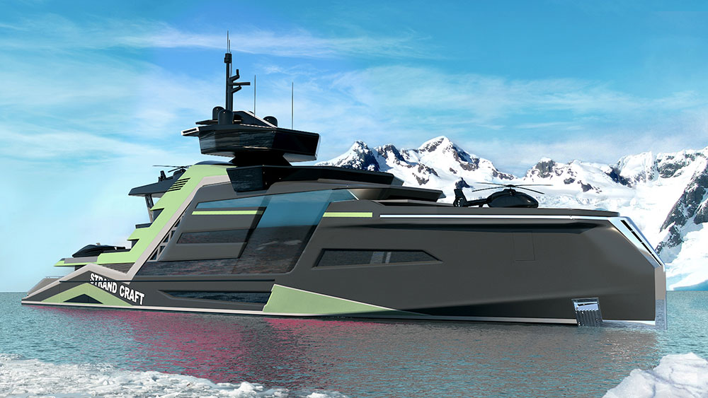 Explorer Yacht Concept Doubles as Rescue Vessel