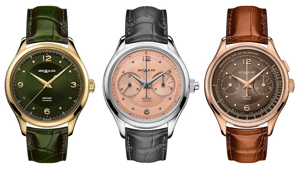 Montblanc Heritage Series Watches