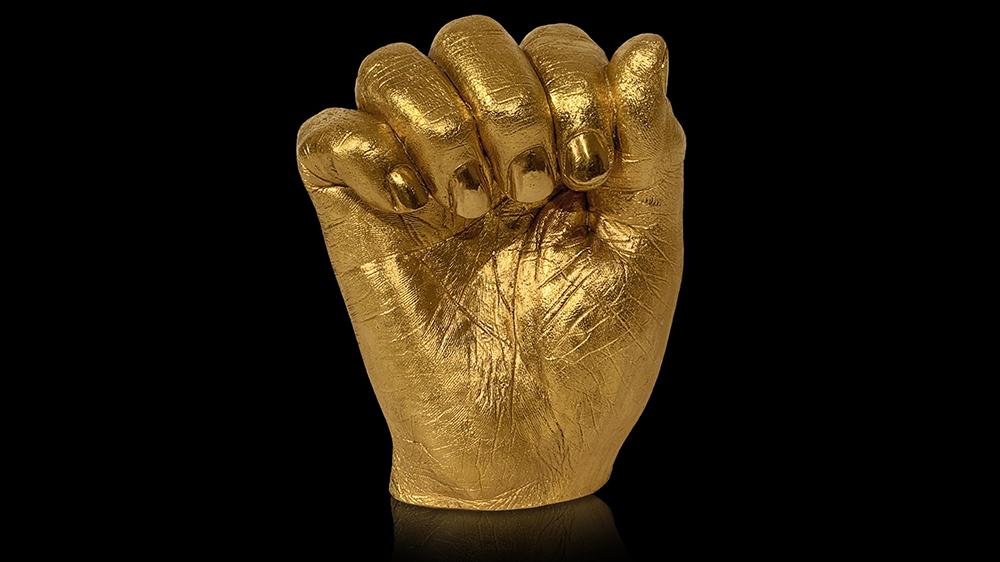 Nelson Mandela Hands