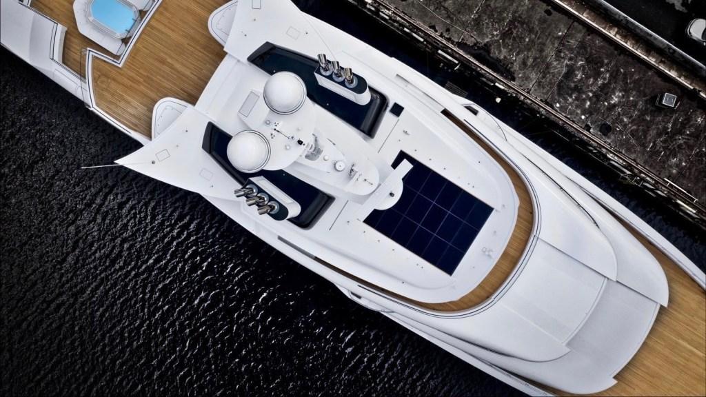 Nobiskrug Artefact hybrid Superyacht environmentally friendly