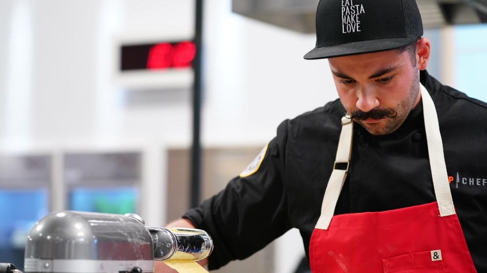 top chef mustache joe sasto