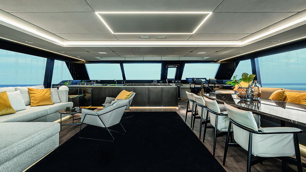 Le dernier catamaran de 80 pieds de Sunreef est comme un condo de luxe sur l'eau - 80 Sunreef Power Otoctone 80
