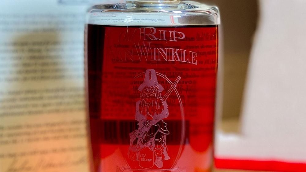 rare bourbon pappy van winkle