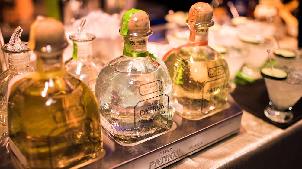 Patrón bottles