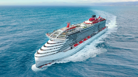 Virgin Voyages's the 'Scarlet Lady'