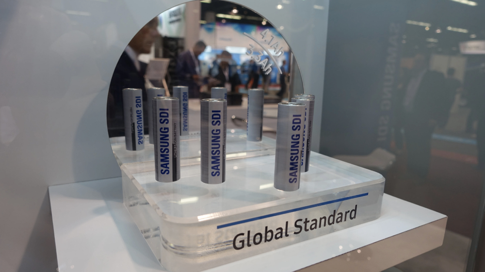 Samsung SDI lithium-ion battery