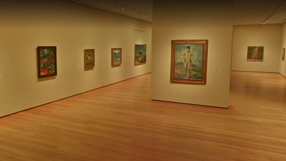 MoMA virtual tour