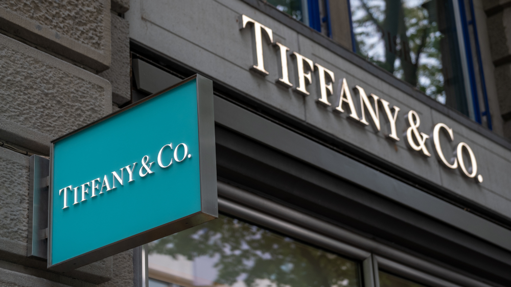 Tiffany & Co. sign
