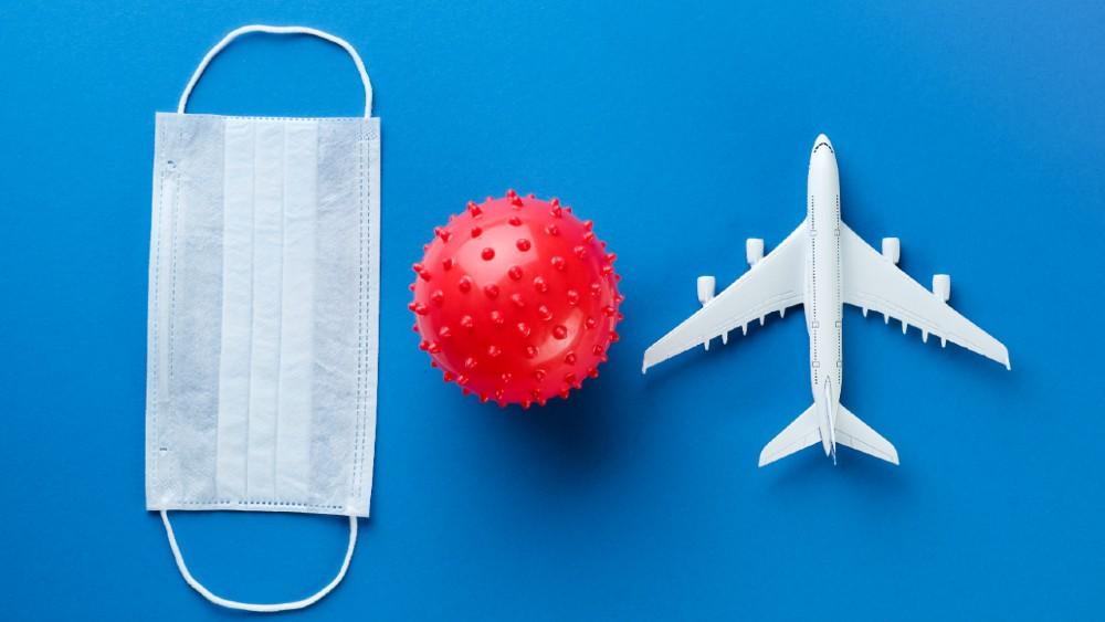 airplane travel hygiene