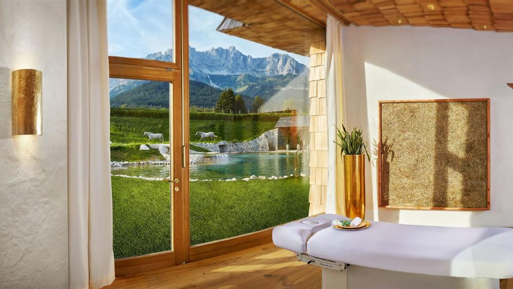 Stanglwirt Austria wellness spa sustainability
