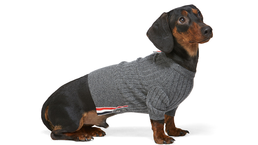 Thom Browne Cashmere Dog Sweater