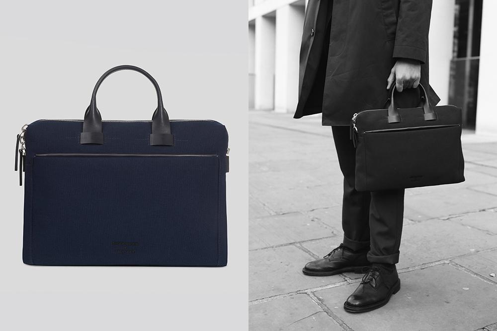 Troubadour x Sunspel Briefcase