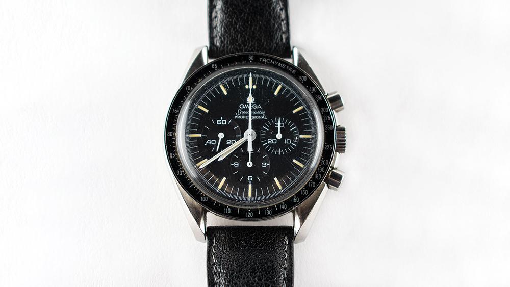 Cosmonaut Nikolai Budarin's Omega Speedmaster Pro