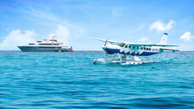 Seaplanes Aiding Yacht Owners