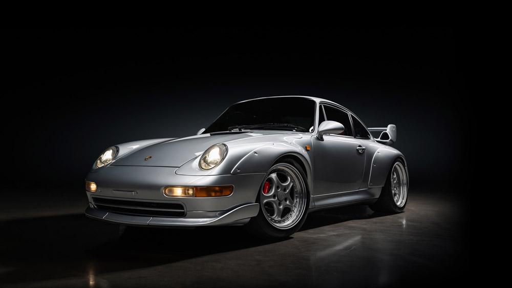 A 1996 Porsche 911 GT2.