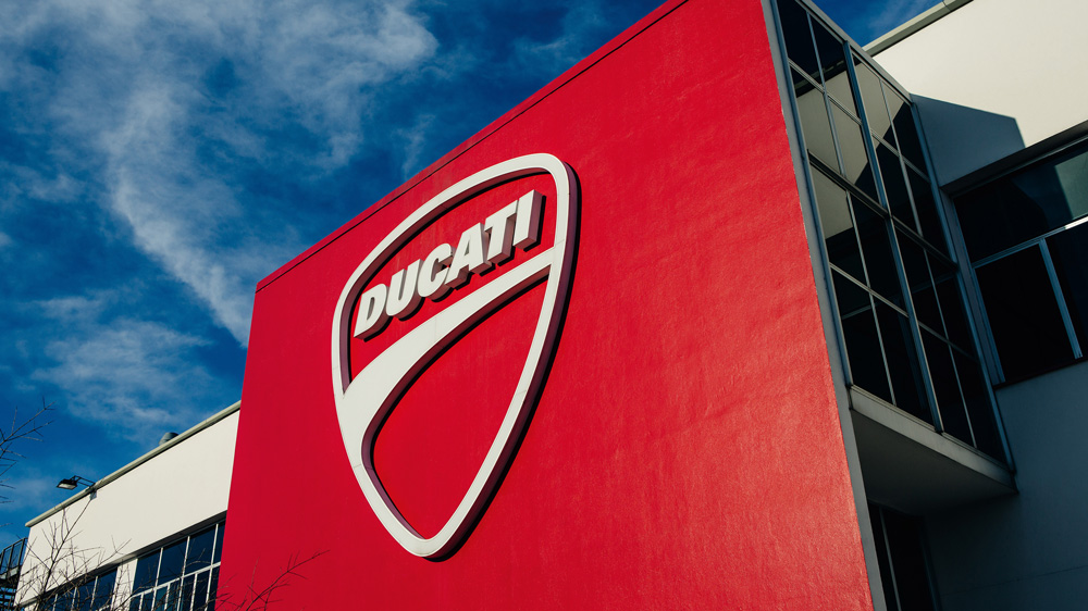 The Ducati headquarters.