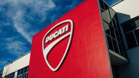 The Ducati headquarters.