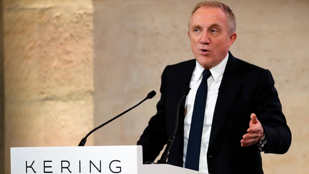 Francois-Henri Pinault pay cut