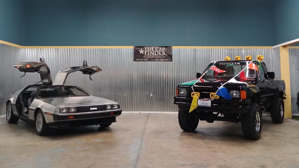 DeLorean Toyota Xtra Cab SR5