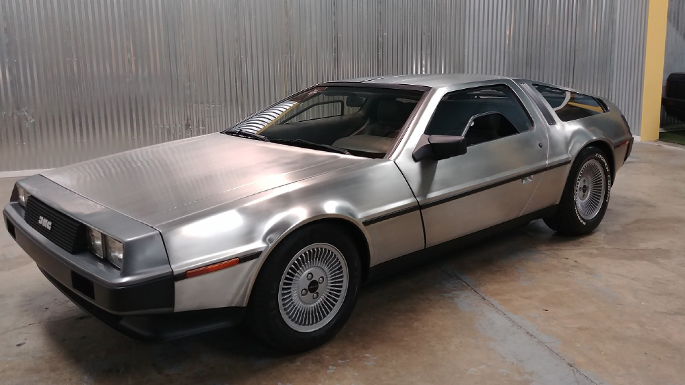 1981 DeLorean auction