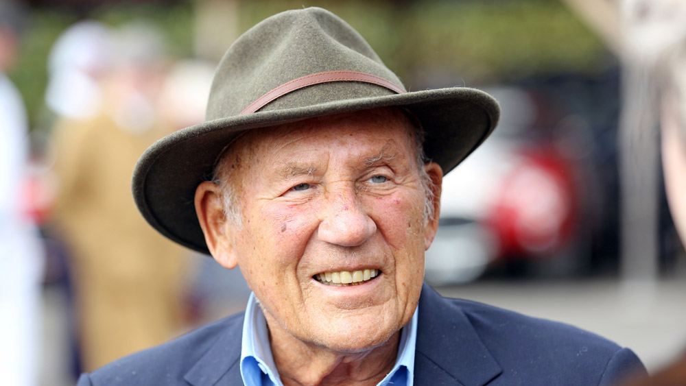Sir Stirling Moss at the 2015 Goodwood Revival.
