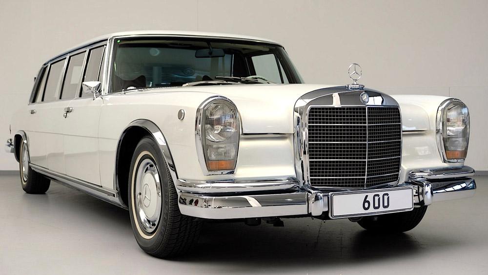 A restored 1975 Mercedes-Benz 600 Pullman.