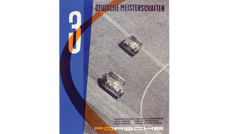 Poster: 3 German Championships, 1955.