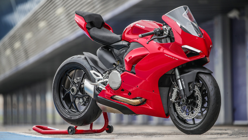 The Ducati Panigale V2.